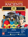 Board Game: Commands & Colors: Ancients Expansion Pack #3 – The Roman Civil Wars