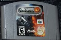 Video Game: Asteroids Hyper 64