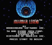 Video Game: The Guardian Legend