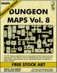 RPG Item: DMAP8: Dungeon Maps Vol. 8