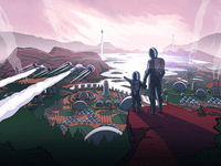 Video Game: Surviving Mars: Green Planet