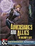 RPG Item: Adversaries and Allies in Baldur's Gate