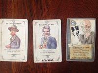 Board Game: Beyond Baker Street: Promo Cards