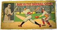 Board Game: Babe Ruth's Baseball Game