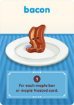 Board Game: Go Nuts for Donuts: Bacon