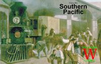 Board Game: Southern Pacific
