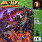 Board Game: Monsters Menace America