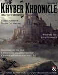Issue: The Khyber Khronicle Volume 03