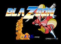 Video Game: BlaZeon: The Bio-Cyborg Challenge