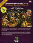 RPG Item: DCC #051.5: The Sinister Secret of Whiterock