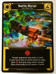 Board Game: Star Realms: Battle Barge Promo Card