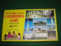 Board Game: This Is Your Capital: Canberra Game