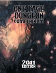 RPG Item: One Page Dungeon Compendium: 2011 Edition