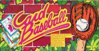 Board Game: Card Baseball: The Exciting Baseball Card Board Game