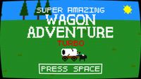 Video Game: Super Amazing Wagon Adventure