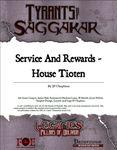 RPG Item: ToS2-03A: Service and Rewards - House Tioten