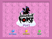 Video Game: Unpleasant Horse