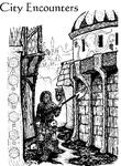 RPG Item: City Encounters for Swords and Wizardry