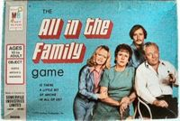 Board Game: The All in the Family Game