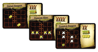 Board Game: Dungeon Lords: Dungeon-Setup Tiles