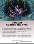RPG Item: A Dozen Goblins and Orcs