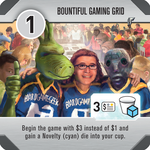 Board Game: Roll for the Galaxy: Bountiful Gaming Grid Promo Tile