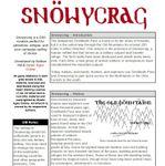RPG Item: Snöwycrag