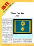 Video Game: Three Dee Tee
