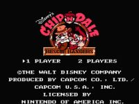 Video Game: Chip 'N Dale: Rescue Rangers