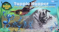 Board Game: A Bug's Life Topple Hopper 3-D Game