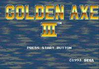 Video Game: Golden Axe III
