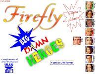 Board Game: Firefly Big Damn Heroes