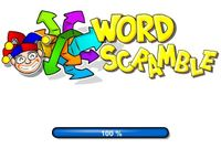 Video Game: Word Scramble