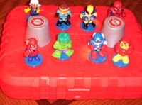 Board Game: Marvel Spider-Man & Friends 3-D Memory Match-Up