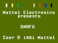 Video Game: SNAFU