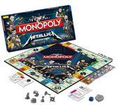 Board Game: Monopoly: Metallica Collector's Edition