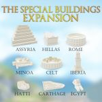 Board Game: Western Empires: The Special Buildings Expansion