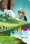 """Board Game: Dixit: """"Merry Christmas"""" Promo Card"""