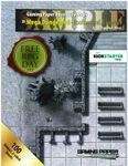RPG Item: Gaming Paper Adventure Maps: Mega Dungeon 4 - Rooftops and Alleyways (Sample Pack)