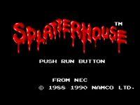 Video Game: Splatterhouse [1990]
