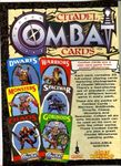 Board Game: Citadel Combat Cards