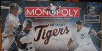 Board Game: Monopoly: Detroit Tigers Collector's Edition