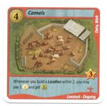 Board Game: Fields of Green: Camels