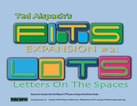 Board Game: FITS Expansion #2: LOTS – Letters On The Spaces