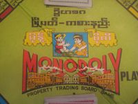 Board Game: Burmese Monopoly