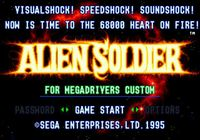 Video Game: Alien Soldier