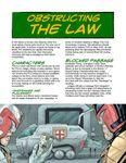 RPG Item: Judge Dredd Case File #4: Obstructing the Law