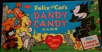 Board Game: Felix The Cat's Dandy Candy Game
