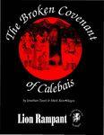 RPG Item: The Broken Covenant of Calebais