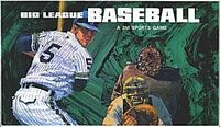 Board Game: Big League Baseball